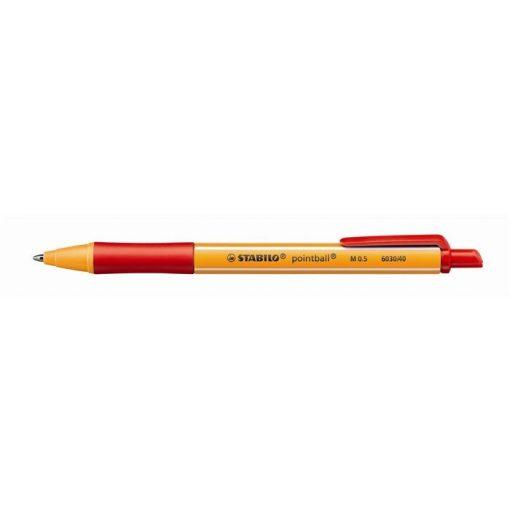 Golyóstoll Stabilo Pointball piros 0,5mm