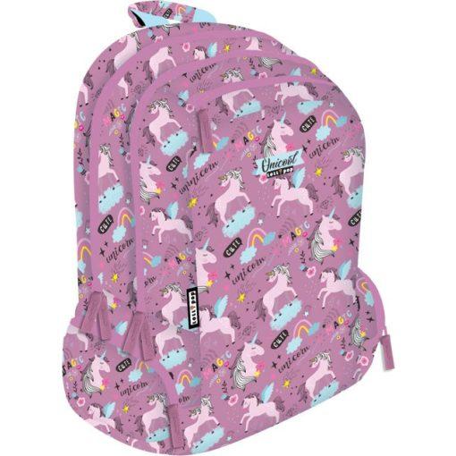 Lizzy Card iskolatáska, hátizsák, Teen+, Unikornis