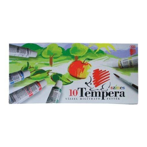 ICO tempera színes, 16ml-es 10db készlet Süni