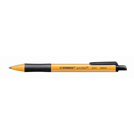 Golyóstoll Stabilo Pointball fekete 0,5mm