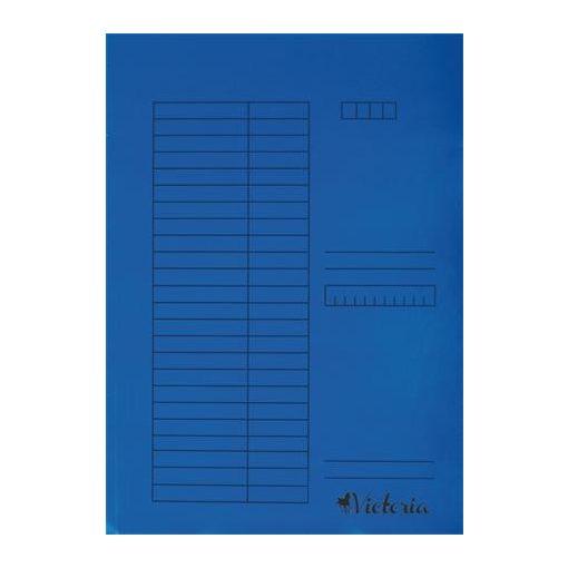 Papír pólyás dosszié A/4 5db kék