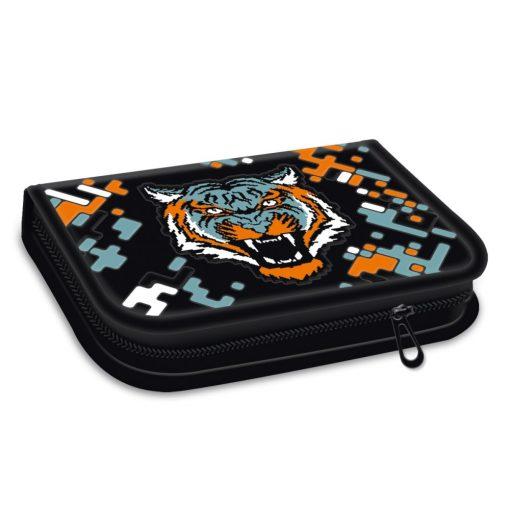 ARS UNA töltött tolltartó kihajtható írószertartóval Roar of Tiger, tigris
