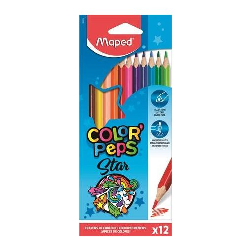 MAPED Color'Peps színesceruza 12db
