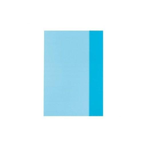 Füzetborító A/5 átlátszó kék 10db