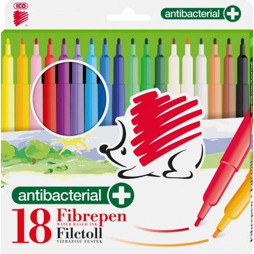 ICO 300 18db-os filctollkészlet, antibakteriális, Süni