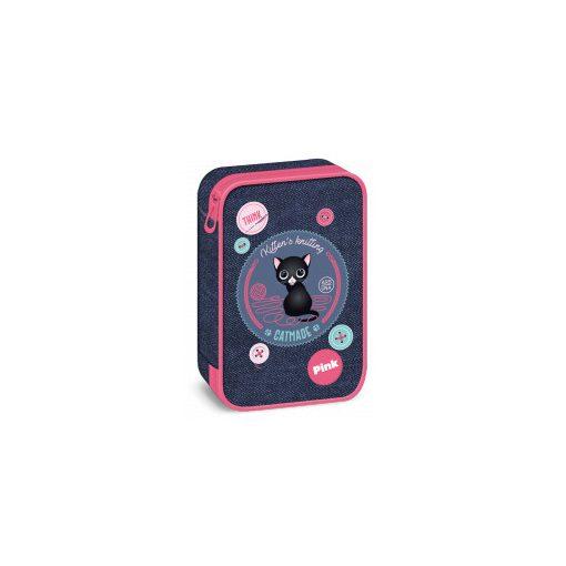 ARS UNA többszintes tolltartó Think Pink