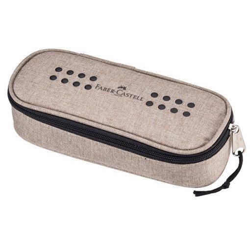 FABER-CASTELL tolltartó Ovalino, ovális, homokszínű
