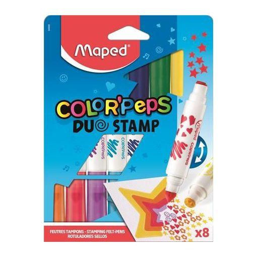 MAPED Color'Peps 2,8mm nyomdás filckészlet 8 szín