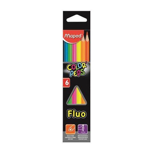 MAPED Color'Peps színesceruza 6db Fluo