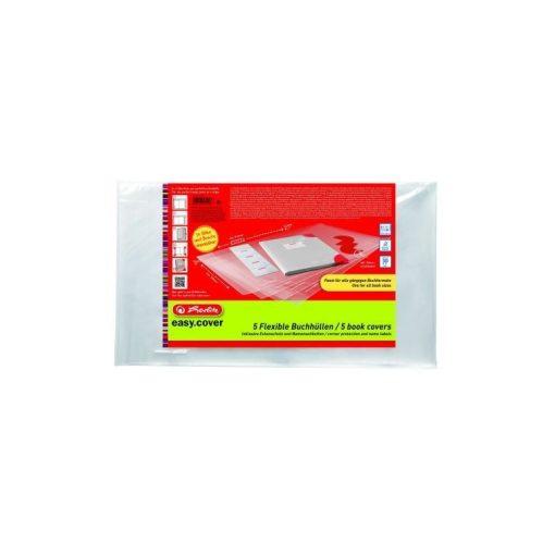 HERLITZ Easy Cover Flexibilis tankönyvborító 5db/cs