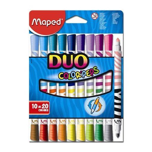 MAPED Color'Peps 10db duo kimosható filctoll (20 szín)