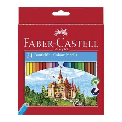 FABER-CASTELL hatszögletű színesceruza 24db
