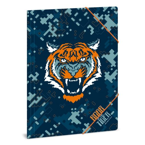 ARS UNA gumis mappa A/4 Roar of tiger, tigris