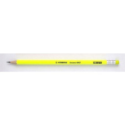 Grafitceruza STABILO neon sárga