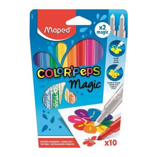 MAPED Color'Peps 2,8mm mágikus, magic filckészlet 10 szín