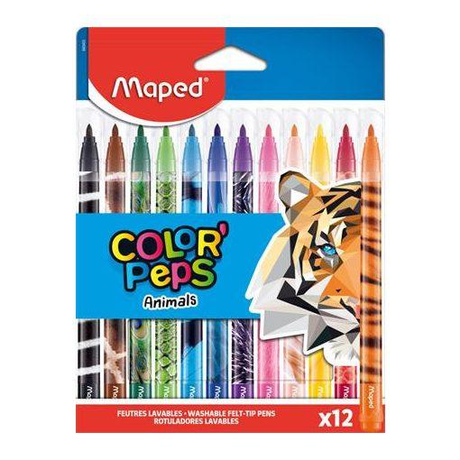 MAPED Color'Peps 12db mosható filctoll