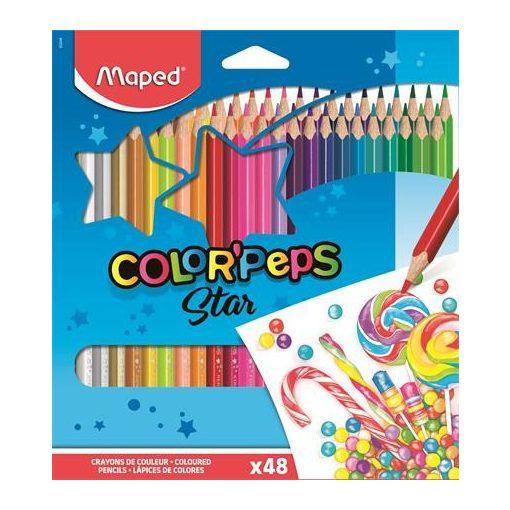 MAPED Color'Peps színesceruza 48db