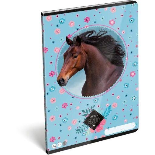 Lizzy Card füzet A/4-es kockás, négyzethálós 87-32, Wild Lovas