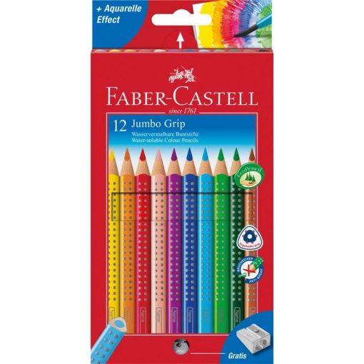 FABER-CASTELL Grip színesceruza 12db, vastag, JUMBO