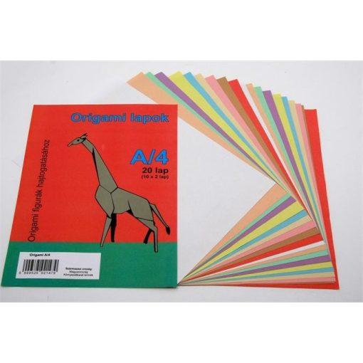 Origami lapok 10db/csomag A/4
