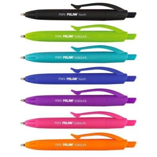 MILAN golyóstoll P1 Mini Touch, fekete